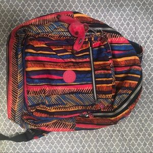 Kipling pattered bookbag